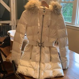 Juicy couture puffer coat 💕